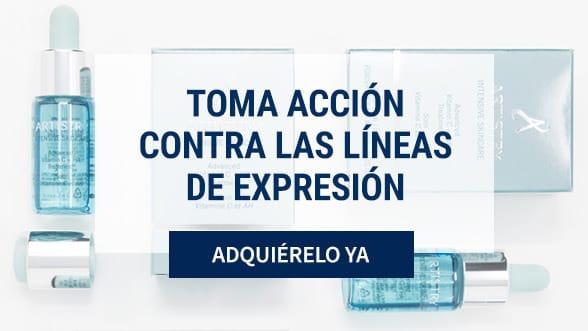Tratamiento Vitamina C + HA para las líneas de expresión de Artistry.